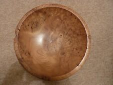 Contemporary Elm wooden bowl