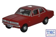 76HB003 Oxford Diecast Vauxhall Viva HB Monza Red 1/76 Scale OO Gauge