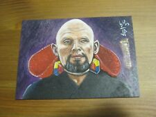 Star Trek 50th Anniversary Sketch Card - Master Thrall - Jason Potratz