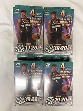 Panini 2019-20 Mosaic NBA Basketball Trading Cards Zion NBA Hanger Box Lot of 4