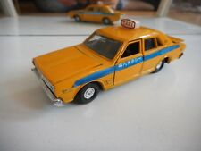 Yonezawa Toys Diapet Nissan Cedric Super deluxe Taxi in Yellow on 1:40