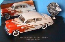 MERCURY CLUB COUPE STREET ROD 1949 1/43 EAGLE'S RACE USA CAR UNIVERSAL HOBBIES