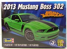 2013 Ford  Mustang Boss 302  Revell 85-4187 1/25 New Model Kit