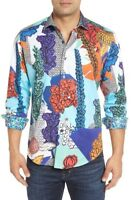 * NWT Robert Graham Wildflowers Classic Fit  Sport Shirt L ONLY LARGE LEFT