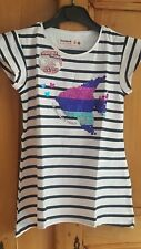 TOP DESIGUAL FILLE - TAILLE 9/10 ANS