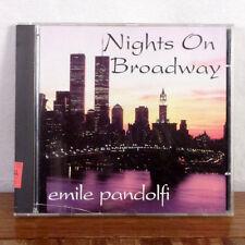 Emily Pandolfi Night on Broadway CD 94 Playgraded M-