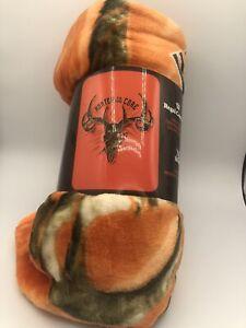 """45x60"""" Super Soft Blanket Faux Fur Cashmere Fleece"""