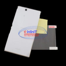 FREE SHIP for Sony Xperia Z Ultra LTE C6833 Clear Crystal Hard Case+Film ZVCE047