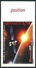 Monaco No. 2972, Satellite Sat, NOT SERRATED IMPERFECT, VERY GOOD and RARE