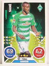 Match Attax 2016/17 Bundesliga - #044 Lamine Sane - SV Werder Bremen