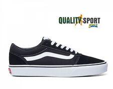 Vans Ward Nero Bianco Scarpe Uomo Sportive Sneakers VN0A36EMC4R1 2020