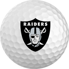 Oakland Raiders Titleist ProV1 Refinished NFL Golf Balls 12 Pack