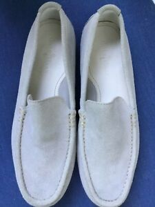 Cole Haan Men's Khaki Suede Loafers, size 10