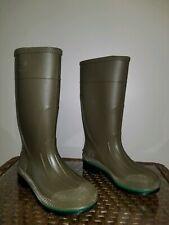 SERVUS Green Rubber Boots Sz 4
