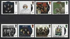 GREAT BRITAIN 2020 QUEEN LIVE (THE GROUP) SET OF 8 SINGLES FINE USED