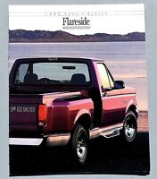 ORIGINAL 1992 FORD F-SERIES FLARESIDE PICKUP SALES BROCHURE ~ 8 PAGES ~ 92FPKF