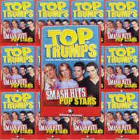 Top Trumps Single Card Smash Hits Pop Stars Singers - Various Artists (FB3)