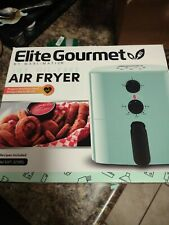 *Elite Eaf-3218Bl: Personal Compact Space Saving Electric Hot Air Fryer Oil-Less