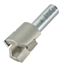 "Trend 24/1X1/2TC 1/2"" Tapered Plug Router Cutter Bit Wood Pellet Tungsten Carbid"
