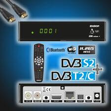 Edision OS Nino+ Plus Linux DVB-T2-Kabel-Sat-Receiver H265 Wifi Edison(w.OS Mini