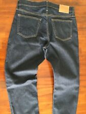 THE MADEWELL  RELAXED STRAIGHT  DENIM JEANS (W 32 L 34  ) $175.00