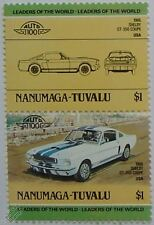 1966 SHELBY GT350 COUPE Car Stamps (Leaders of the World / Auto 100)