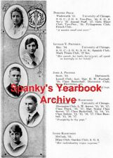 1917 Chicago Hyde Park High School Yearbook~Photos~History~Football~Local Ads~++