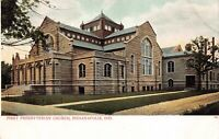 Postcard First Presbyterian Church in Indianapolis, Indiana~129805