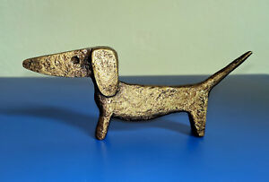 "Unique Style Dog - Beagle ""Weiner Dog"" Art Sculpture"