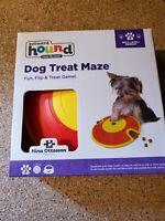 Outward Hound Dog Treat Maze Red Yellow NIB