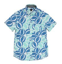 J.CREW Factory Men's XL Slim Fit Beach Ball Short Sleeve Button-down Shirt