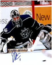 Los Angeles Kings JAMIE STORR Signed Autographed 8x10 Pic C