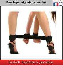 Bondage de poignets chevilles menottes Restraints  Hand Cuffs Adult sex toys B8