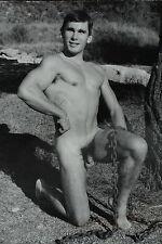 JEAN FERRERO MÄNNER AKT FOTO MALE NUDE PHOTO 60' EROTIC MODEL BUD LANTER CHAIN