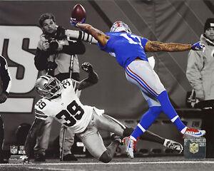Odell Beckham The Catch New York Giants 2014 Spotlight Action 8x10 Photo