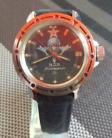 Russian wristwatch Vostok Komandirskie VDV vintage USSR watch