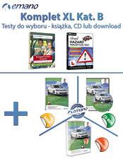 Testy na prawo jazdy w UK - samochód Kat. B KOMPLET XL (3 wersje do wyboru)
