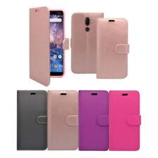 Fundas y carcasas brillantes de piel sintética para teléfonos móviles y PDAs Nokia
