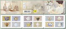 FRANCE CARNET 12 timbres - Théières - Lettre verte Carnet de 12 timbres