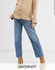 asos maternity Straight Leg Over The Bump jeans 10