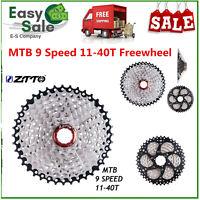 9 Speed 11-40T MTB Mountain Bike Bicycle Cassette Sprocket Freewheel