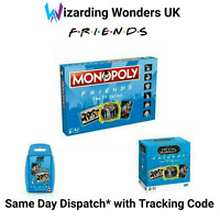 Friends Monopoly Board Game Trivial Pursuit Top Trumps Gift