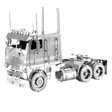 Fascinations Metal Earth 3D Laser Cut Steel Model Kit Freightliner COE TRUCK