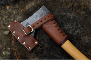 Helko Werk Leather Hatchet Collar — Made in USA