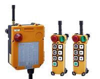 6 Channels Overhead Hoist Crane Wireless remote Control F24-6D 18V-65V 2T+1R)
