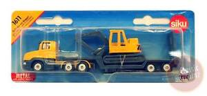 SIKU Low Loader with Excavator Die-cast Toy Car NEW kids play small vehicle