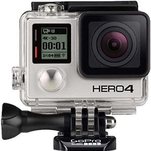 GO PRO HERO 4 Black Waterproof Sports Ultra Clear 4K Camera