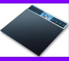 BASCULA DE BAÑO CON VOZ ALTAVOZ 5 IDIOMAS 150 kg PANTALLA LCD DIGITAL CIEGOS