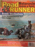 Road Runner Motorcycle Touring & Travel Magazine December 2007 Kawasaki Concours