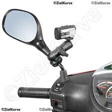 """Roller Kamerahalter Spiegelarmhalterung ActionCam VideoCam DigiCam 1/4"""" Gewinde"""